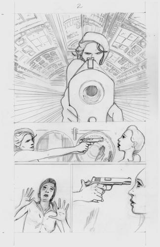 Skulldigger's Hill Rough Pencil Sequentials p.1