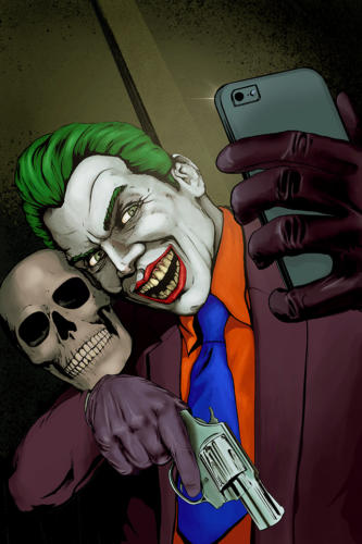 Joker and Friend Selfie